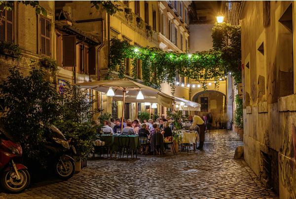 Restaurantes para caer en la tentación en Roma